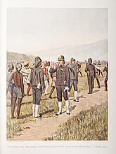 [Ten Raa] De uniformen van de Nederlandsche zee- en landmacht, hier te lande en in de koloniën.