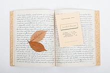[Adultery in Lochem 1945-1946] , Diary with writings dated Zondag 23 September 45 to Donderdag 28 Fe