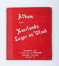 R. Tiktak, Thee en Koffiehandel Amsterdam-Groningen - Album van Neerlands Leger en Vloot, ca. 1913.