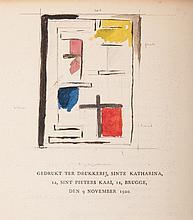 [Extraordinary copy] Klassiek-barok-modern, Lecture by Theo van Doesburg. Antwerpen, De Sikkel/ Amst