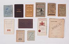 Souvenir au musée d'Amsterdam, Tourist album with 12 albumen photos of famous paintings, folded as l
