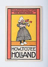 Willy Sluiter (1873-1949), How to see Holland (official information office for tourists), brochure w