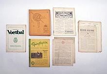 [Football] S.R.A. Nieuws - Rotterdam, First 16 issues of volumes 1 and 2, and 8 issues from the 3rd