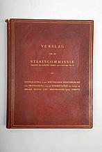 [Medicine. Extraordinary copy on tuberculosis] Verslag van de Staatscommissie, ingesteld bij Koninkl