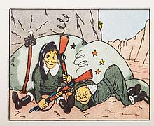 Les aventures de Puck, reporter. Vers Kaboul. Par Marc Ratal, Brussels, Éditions Campéador, n.d. (19