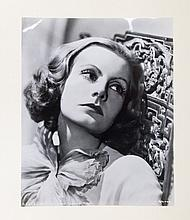 Greta Garbo, Folio album with 28 large size film stills, neatly pasted. Photos ca. 1930. Album sl. l