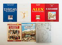 Jacques Martin , Alex: O Alexandrië. Casterman, 1996. Deluxe cloth with pasted front plate, numbered