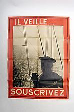 [WWI] Posters, Tableau indiquant des corps de troupes des les villes sièges de dépots différentes ar