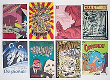 Folio comics  -  Lot with large
