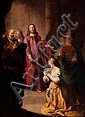 Utrecht School (1636) Christ and the unfaithful