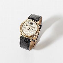 An 18 carat gold Jaeger-LeCoultre Odysseus chronometer watch