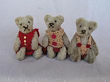 Three miniature 3.5