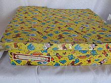 Boxed twenty three piece Japan Child Tea-set with blue flower pattern, yeal