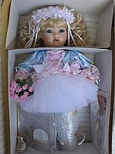 Two NRFB porcelain LE 'World Gallery' Artist dolls:- 1995