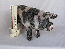 White label LE316 Steiff '1926 Spotty Pig' c1995,
