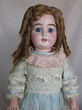 German 1890s bisque 56cm Armand Marseille 1894 Child. Three hairlines short