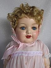 Composition Kammer & Reinhardt 926 Toddler. Repainted mouth, sleep blue gla