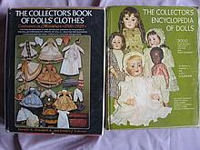 Two Coleman doll reference Books. Collector's book of Doll Clothes 1700 -19