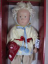 Boxed LE198 Gotz artist 'Roskothen' 55cm vinyl Child in all original outfit