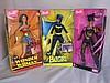 Four NRFB Mattel DC Comics Super Heroes:- Batgirl,
