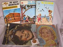 Five Child books:- 1930s Shirley Temple Little