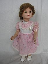 50s H/Plastic Mechanical clockwork Girl doll