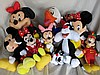 Big box Disney / Warner Bros soft toys inc:-
