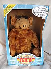 Two B/O Coleco Talking TV Alf dolls