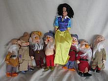 80s Disney Bikin Snow White & Seven D's