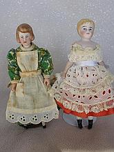 German 13cm 1910-20 Dollshouse lady