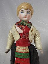 Bisque 1900s German Girl Dollhouse doll