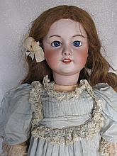French bisque SFBJ 301 'character girl' 70cm