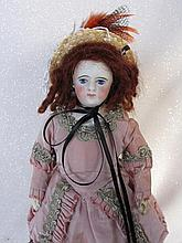 Pale bisque Francois Gaultier girl c1880s