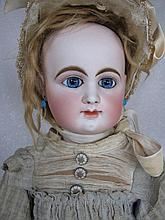 French Rabery & Delphieu 'Bebe' 1880s closed mouth 61cm doll