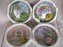 Twelve limited Franklin Mint Collector Plates