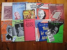 Thirty five vintage Song Sheet Music Albums