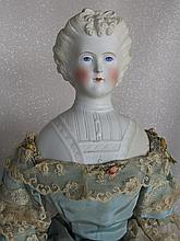 Antique Parian Bisque lady 1880s 21
