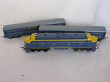 Vintage Hornby / Triang train locomotives & coach's