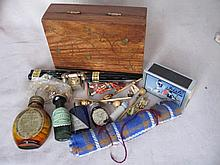 Mixed vintage collectables / toys includes:- Bottles of Durabel / Tabloid E