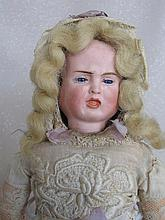 German 1890s bisque Carl Bergner Multi face doll