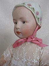 Antique bisque Gebruder Heubach 'Stuart Baby'