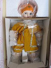 MIB porcelain 1998 LE Strong Museum 'Sunny Orange Blossom' 33cm by Otto Den
