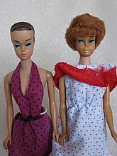 Two 1960s Mattel Barbie' dolls