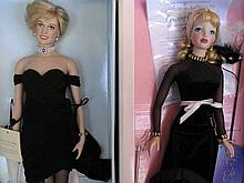 Two LE Celebrity dolls, All About Eve & Diana
