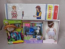 Four boxed Toys:- Mattel Barbie Pose Me Pets, Barbie Posh Pets, Ernest Bala