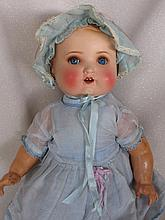 Flange head painted bisque 48cm Laurie Cohen Armand Marseille 696 baby c193