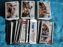 Mint condition approx 200 football 2002 VFL Select cards, all commons and a