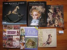Six Reference Books:- The Rocking Horse / Mullins, Fascinating Dolls Paris