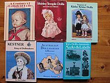. Six Doll Books:- Treasury of K/Kruse, Kestner /F