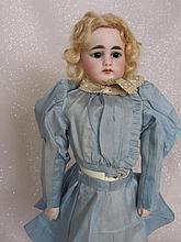 Solid dome shoulderhead attributed to J.D. Kestner c1880s 30cm doll